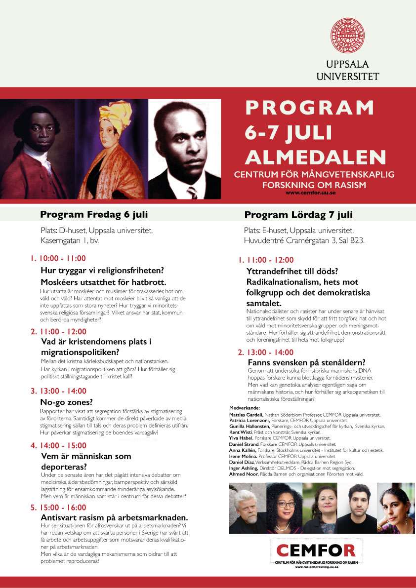 CEMFOR at Almedalen 6-7 July - Welcome!
