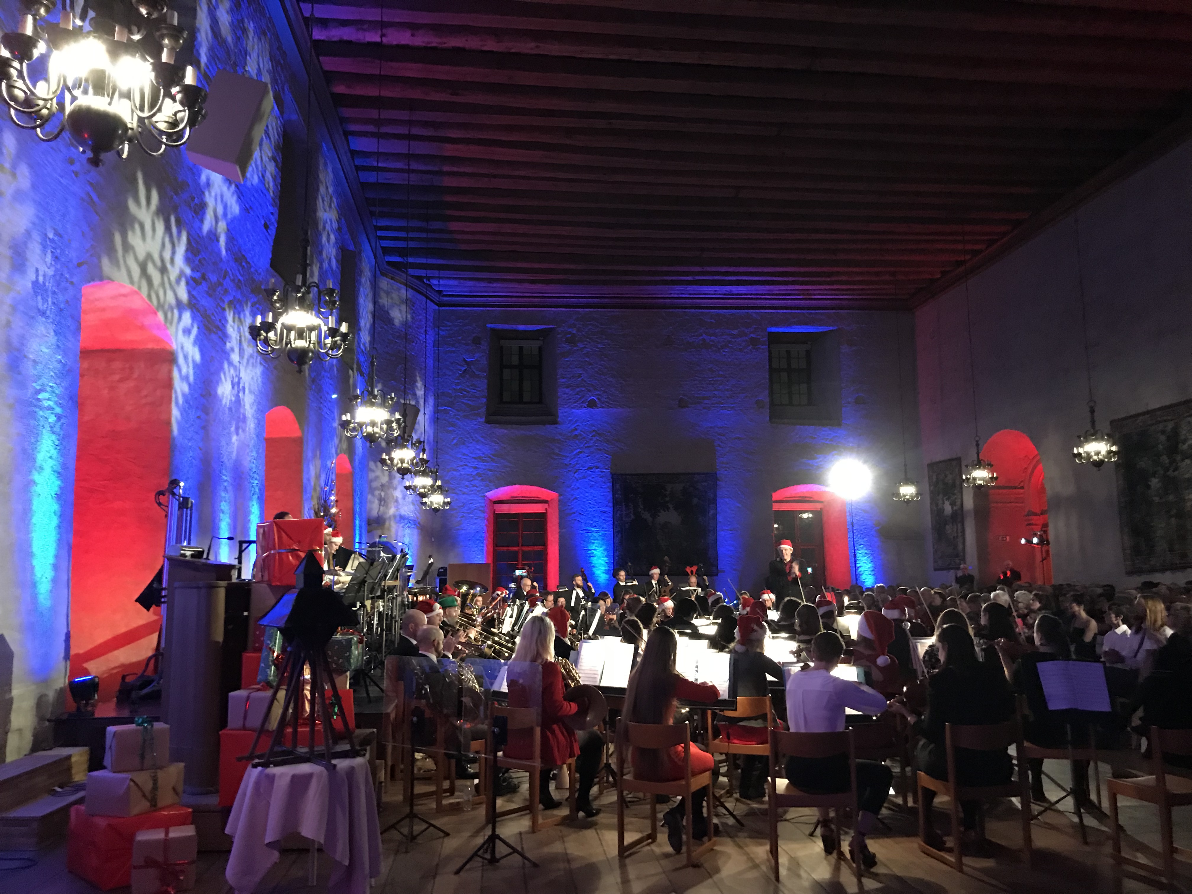 Christmas tunes with the Royal Academic Orchestra