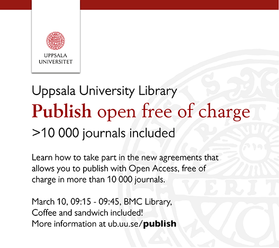 Publish open free of charge