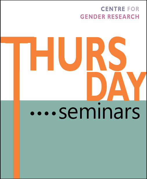 Thursday seminar: Chemistry or service?