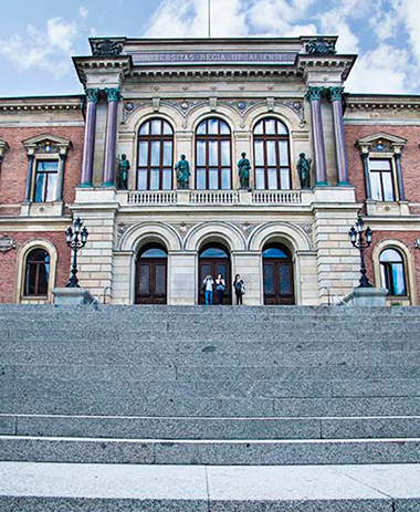 Virtual tour of the University Main Building with Mikael Norrby